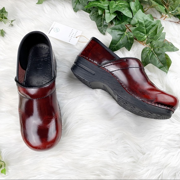 Dansko Shoes Professional Red Clogs Sanita Size 40 Poshmark
